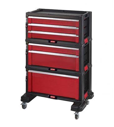 Szafka narzędziowa Keter 6 szuflady Tool Chest Set 226340