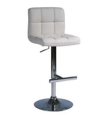 Krzesło barowe Signal C-105 kremowe