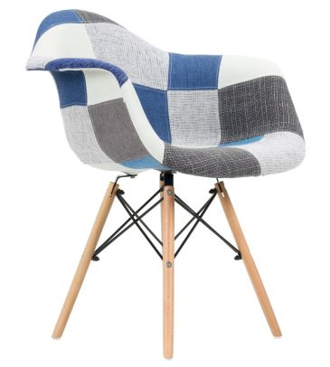 Krzesło patchwork FCS Sato 14