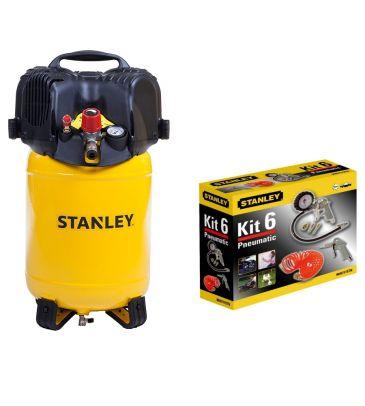 Kompresor bezolejowy 24L Stanley D 200/10/24V 8117190STN598 PLUS AKCESORIA