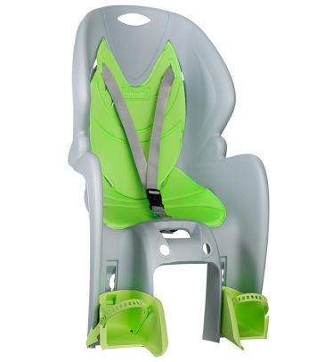 Fotelik rowerowy na tył Nfun Amico Frame grey-green 58558 NFCSS017
