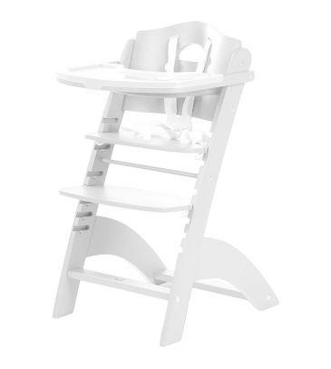 Krzesełko do karmienia Childhome Lambda 2 HCLCW białe