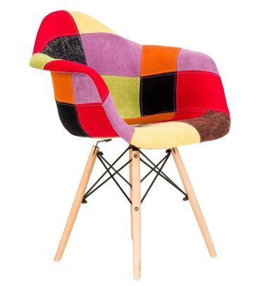 Krzesło patchwork FCS Sato 19