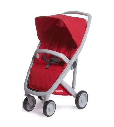 Wózek spacerowy Greentom UPP Classic A+F grey/red