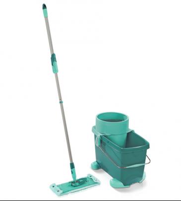 Zestaw Clean Twist M Leifheit 52050 mop z wyciskaczem, wiadro + wózek i sito