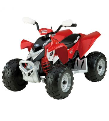 Pojazd na akumulator 12V Peg Perego Polaris Outlaw Red IGOR 0049