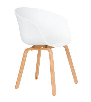 Krzesło skandynawskie FCS DEVO białe