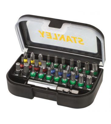 Zestaw końcówek śrubokrętowych 31 szt. Stanley Fatmax STA60490-XJ
