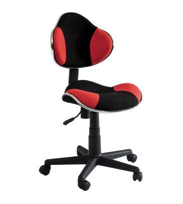 Fotel obrotowy Signal Q-G2 czerwono-czarny