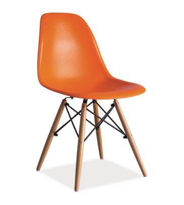 Krzesło Signal Enzo pomarańczowe