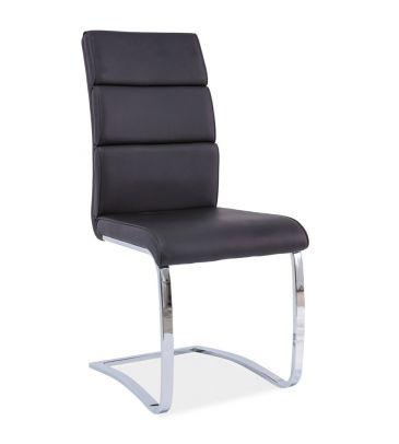 Krzesło Signal H-456 czarny/chrom