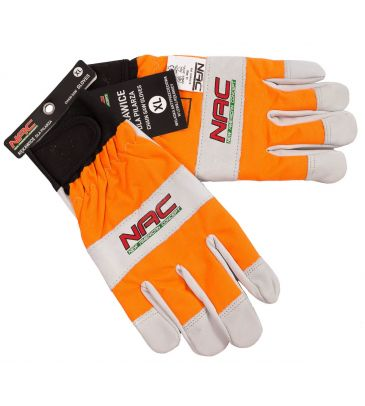 Rękawice ochronne przeciwprzecięciowe NAC dla pilarzy rozmiar XL