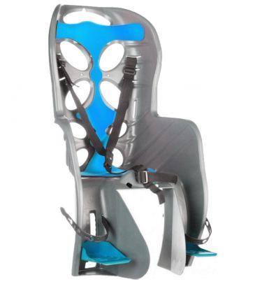 Fotelik rowerowy na tył Nfun Curioso Frame grey-bue 57474 NFCSS059