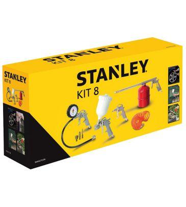 Zestaw narzędzi pneumatycznych Stanley Kit 8 9045671STN