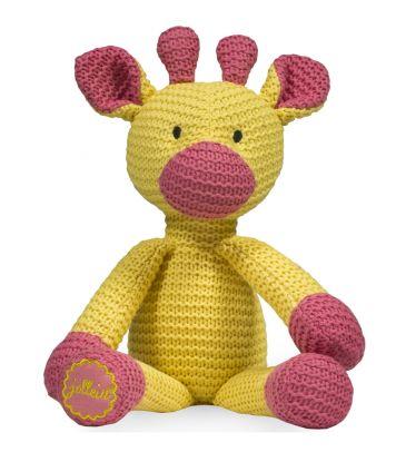 Przytulanka Jollein Żyrafka Chunky 037-001-82010 żółta
