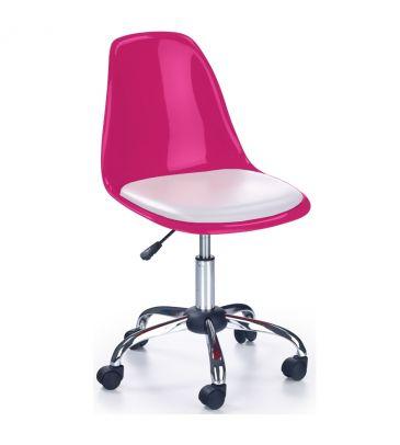 Fotel obrotowy Halmar Coco 2 różowy