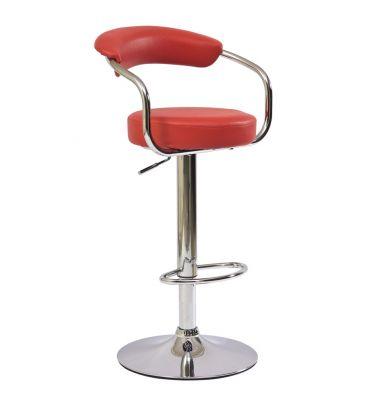 Krzesło barowe Signal C-231 czerwone