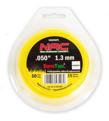 Żyłka tnąca kwadratowa 1,3 mm NAC SSQ050PL