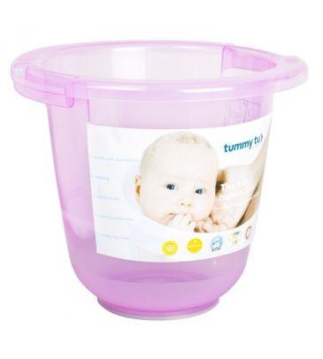 Wiaderko do kąpieli Tummy Tub różowe