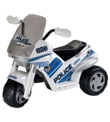 Motor trójkołowy na akumulator 6V Peg Perego Raider Police IGED 0910