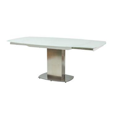 Stół rozkładany Signal Luciano biały 130x105