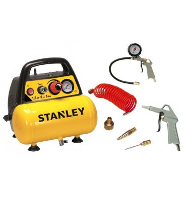 Kompresor Stanley 6L C6BB304STN071 z akcesoriami