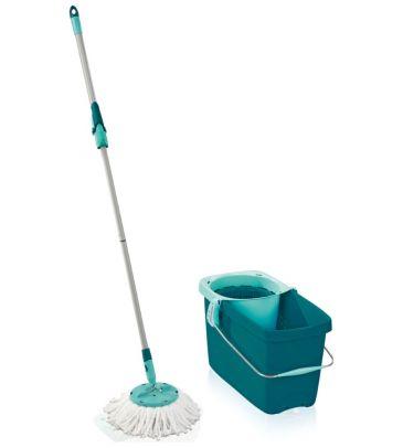 Zestaw Clean Twist Mop Leifheit 52019 mop z wyciskaczem, wiadro oraz sito