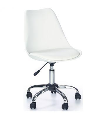 Fotel obrotowy Halmar Coco biały