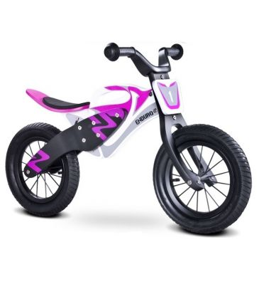 Rowerek biegowy Toyz Enduro white/purple
