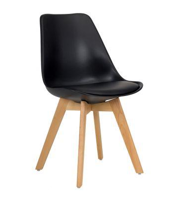 Krzesło MSH Duvet czarne