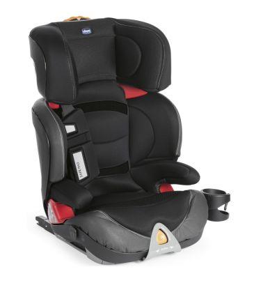 Fotelik samochodowy 15-36 kg Chicco Oasys 2/3 Fixplus EVO jet black + zabawka