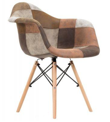 Krzesło patchwork TDF  Vario 09