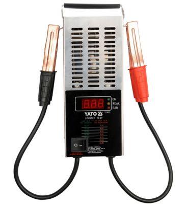 Tester akumulatorów cyfrowy 12V YATO YT-8311