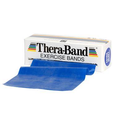 Taśma oporowa Thera-Band 5,5 m 50050 niebieska