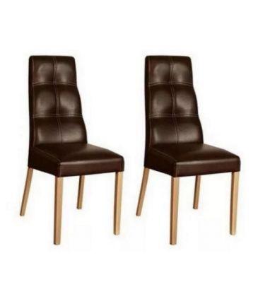 Komplet krzeseł 2szt. Forte KR0093-196-DBWN