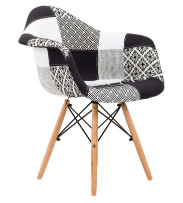 Krzesło patchwork FCS Sato 12