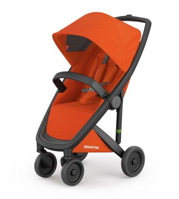 Wózek spacerowy Greentom UPP Classic 2017 A+F black/orange