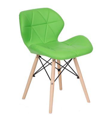 Krzesło LCN Flavio zielone