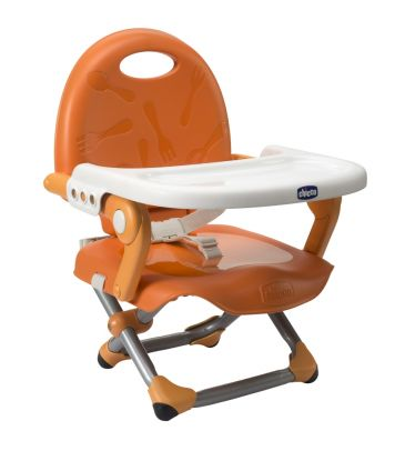 Przenośne krzesełko do karmienia Pocket Snack mandarino