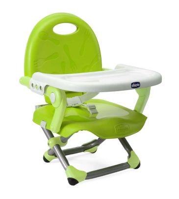 Przenośne krzesełko do karmienia Pocket Snack lime
