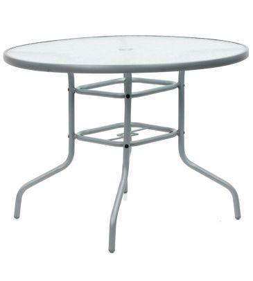 Stół stalowy okrągły MODERNO