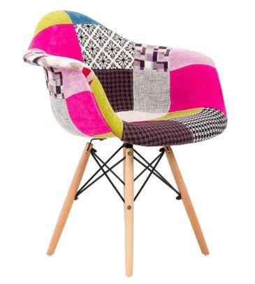 Krzesło patchwork FCS Sato 16