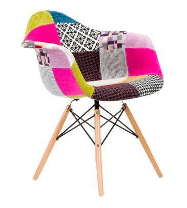 Krzesło patchwork TDF Vario 01