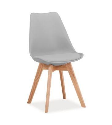 Krzesło Signal Kris jasne szare