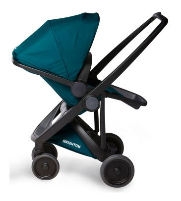 Wózek spacerowy Greentom UPP Reversible A+B+D black/teal