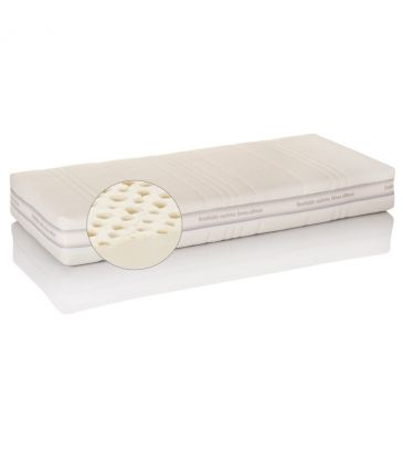 Materac lateksowy Hevea Royal 90x200 tencel