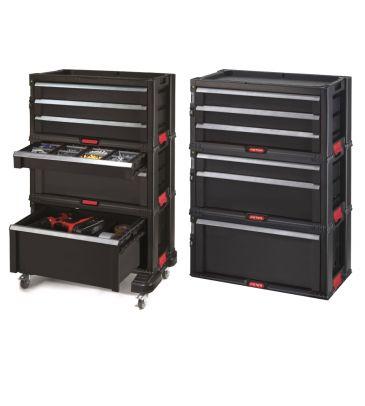 Szafka narzędziowa Keter 6 szuflady Tool Chest Set 237786