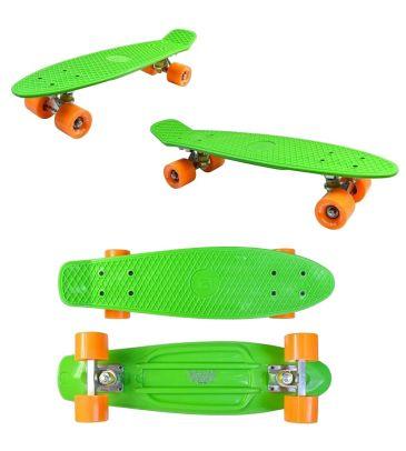Deskorolka Kidzmotion Deckboard 22' zielona