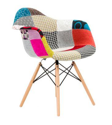 Krzesło patchwork TDF Vario 02
