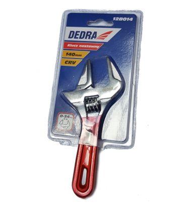 Klucz nastawny krótki DEDRA 12B014